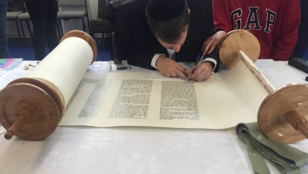 Last year the Wellington Jewish Community had their first torah finished in Wellington. Scribe Azriel Glick writes the ...