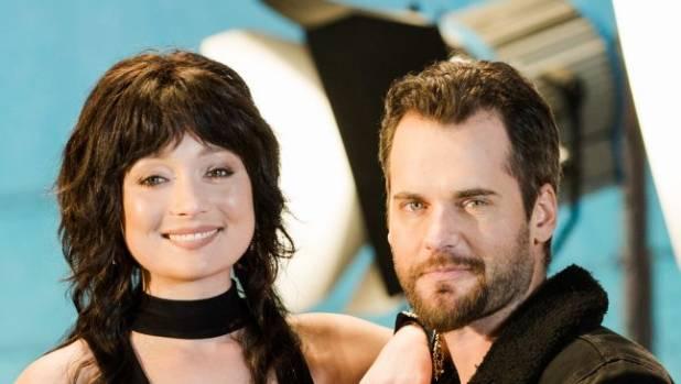 Antonia Prebble and David de Latour play Westside's criminal couple Rita and Ted West.
