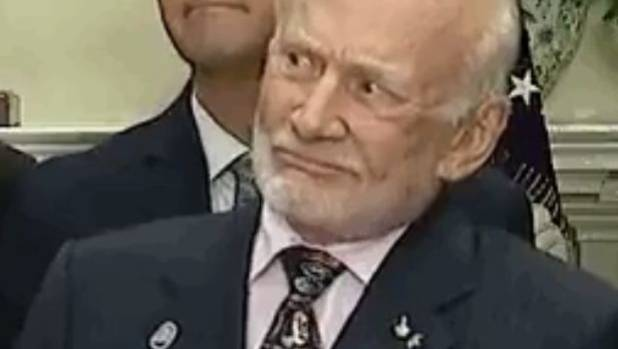 How Buzz Aldrin reacted to US President Donald Trump's ...
