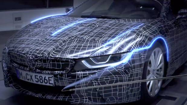BMW Drops First Teaser For Production-Spec i8 Roadster