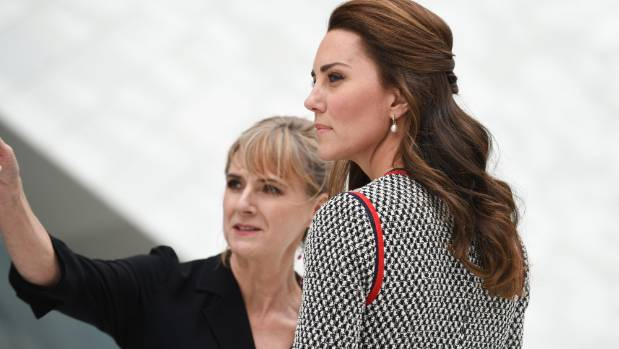 Here's Kate Middleton on June 29 with significantly longer hair