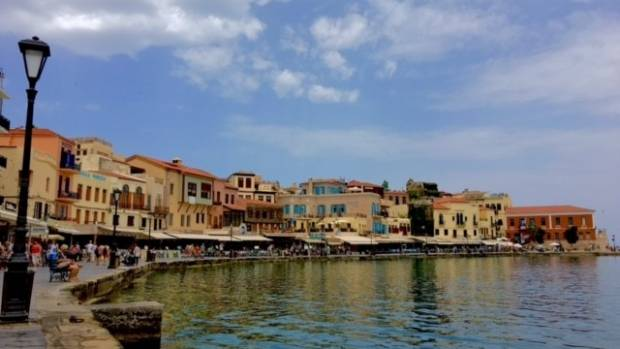 Chania's Venetian Harbour.