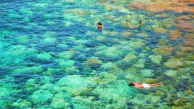 If you must do something, the clear water is ideal for snorkelling.