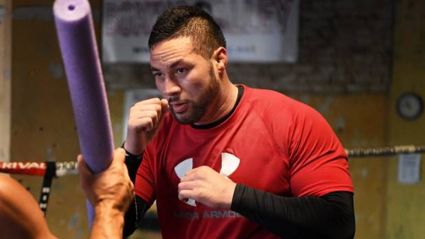 Joseph Parker is back at his Las Vegas base preparing for the second defence of his WBO belt in September.
