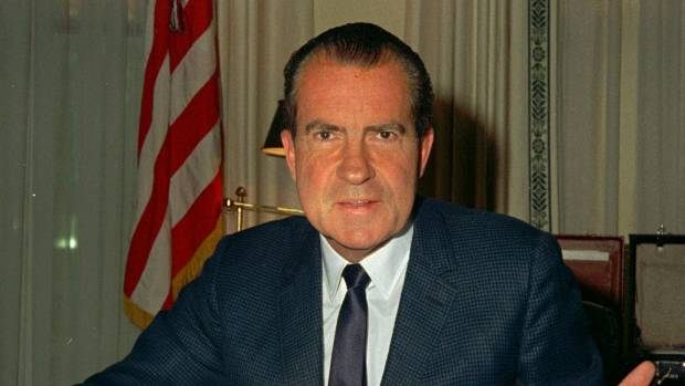 Between the date of the Watergate break-in and Richard Nixon's resignation, the S&P 500 dropped a massive 23 per cent.