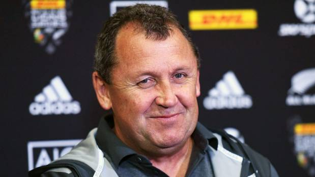 All Blacks assistant-coach Ian Foster told the Black Sox of the need to stay calm and composed in the 'blue zone'.