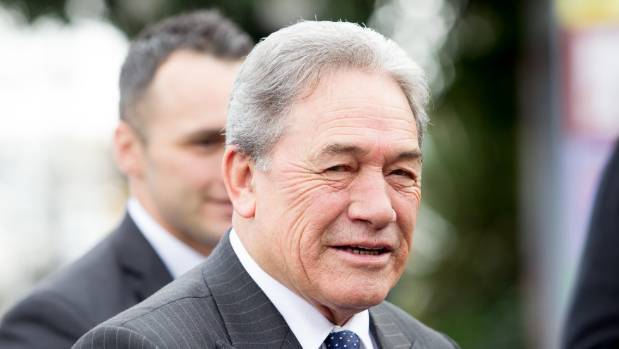 NZ First leader Winston Peters was taken to task over comments made at a Grey Power Hamilton meeting on Monday.