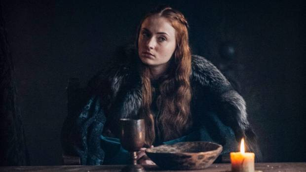 "Sophie Turner says Game Of Thrones is like ""the biggest drama class you'll ever have""."