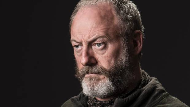 Liam Cunningham denies being a superstar after playing Davos Seaworth.