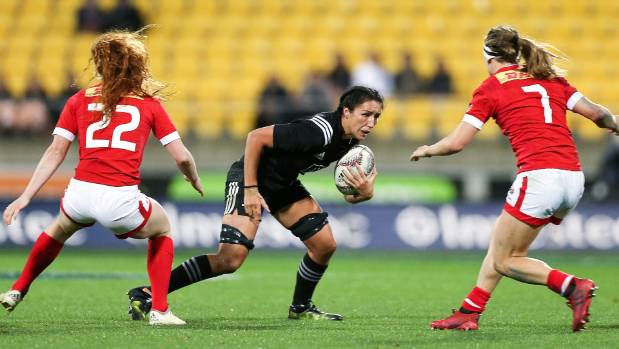 The Black Ferns kicked off their world cup campaign with a convincing 44-12 win over Wales