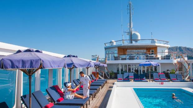 Smaller ships aboard a Voyages to Antiquity cruise means schedules are a bit more relaxed and on average there are only ...