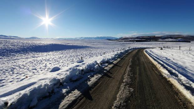 Heavy snowfall left stunning vistas in South Canterbury this week.