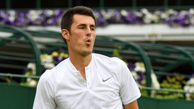 Tomic can't 'find any motivation' at Wimbledon