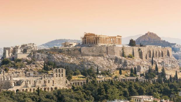 Marvel at the Parthenon in Athens, during one of the many curises that include Greece in its stop.