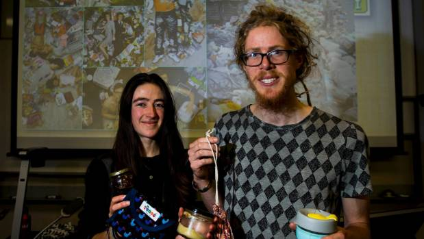 No-Waste Nomads Hannah Blumhardt and Liam Prince are coming to Matamata to share their vision of a plastic free world.