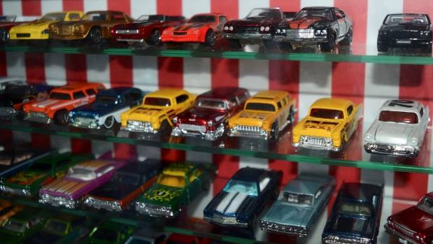 Eric Heycoop has been collecting cars since he was a young boy. Some of his collection is on display in his home.