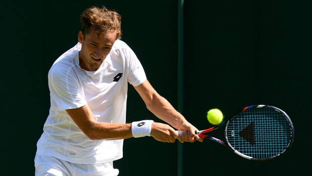 'Stan-slayer' Medvedev targets quarter-final run at Wimbledon