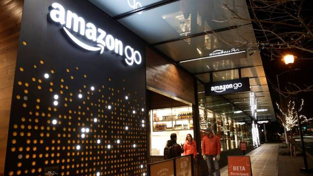 This Amazon Go store in Seattle has no check-outs; instead people pay simply by walking out the door.