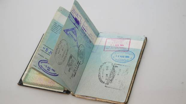 Flashback australia calls an end to passport free travel for an old new zealand passport ccuart Images