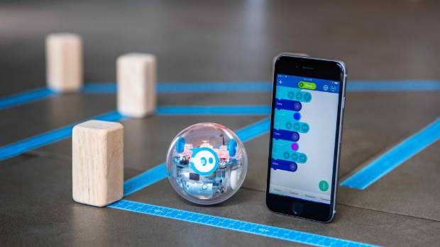 The Sphero SPRK+ is a fun toy that can also be used to teach coding.
