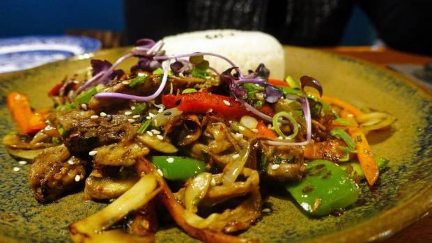 Mongolian Lamb Stir Fry