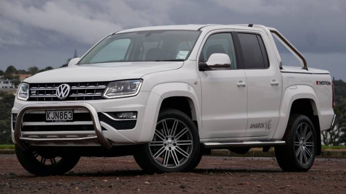 Amarok V6 Is For Those Pickup Ers Living The High Life With Prices In