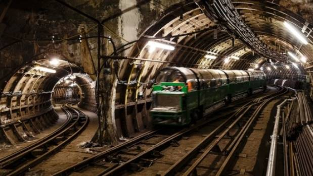 London's 'Mail Rail' once transported letters and parcels 21.3 metres below ground