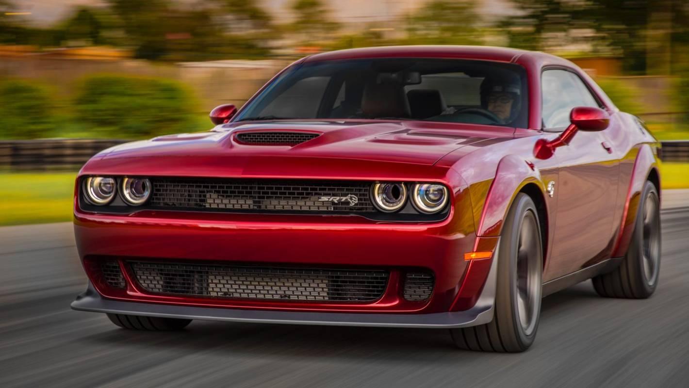 Dodge Widens Challenger Srt Hellcat Stuff Co Nz