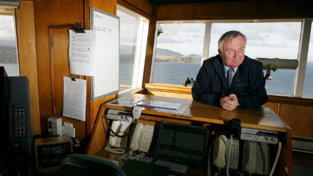 Wellington Harbour master Mike Pryce at the Beacon Hill station.