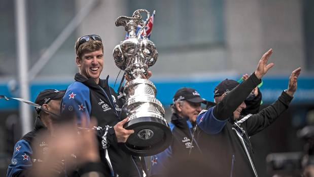 America's Cup homecoming - Team NZ party about to get started