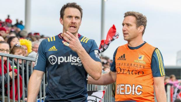Highlanders fullback Ben Smith has endured an injury riddled season.