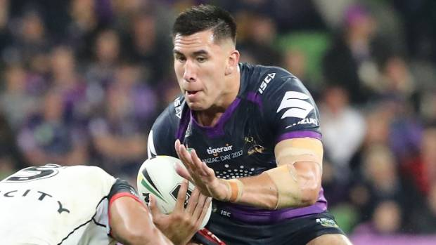 Fellow Kiwi Asofa-Solomona has signed a two-year extension that will keep him with Melbourne until the end of 2019.