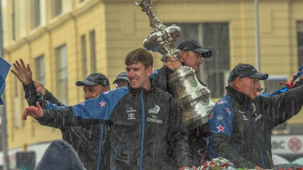 America's Cup team to parade through Wellington on Tuesday