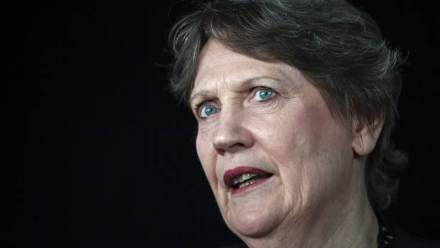 """Former Prime Minister Helen Clark told Ardern to """"ignore the sexist attack""""."""