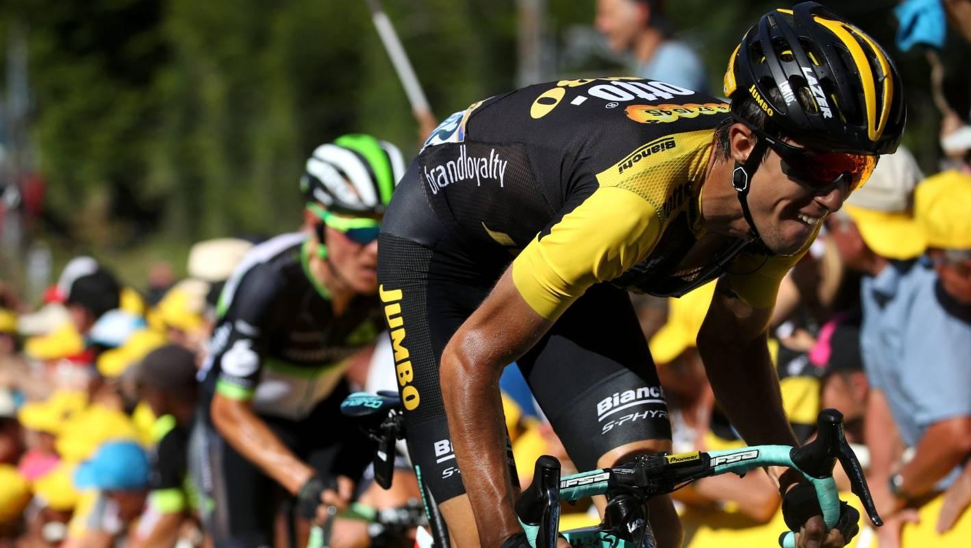 Kiwi cyclist George Bennett moves into Tour de France top 10