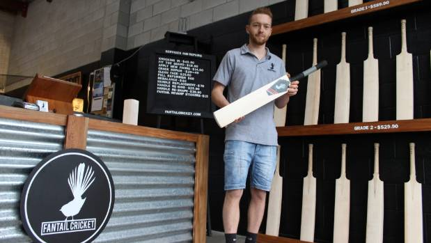 Blake Shattock, 22, played cricket his whole life but is now focusing on the manufacturing side of the game.