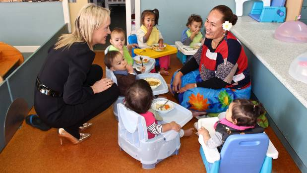 Nikki Kaye visited early childhood education centre A'oga Fa'a Samoa Incorporated in Auckland on Friday to announce a ...
