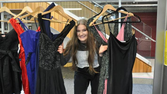 5fa0d5e05b2 Hundreds of dresses donated to help Wellington teens shine on ball ...