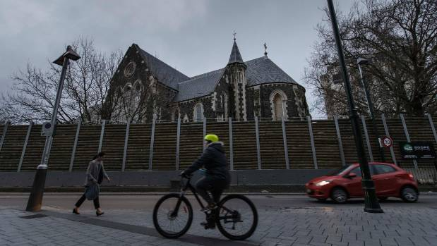 Synod members will decide the fate of the quake-damaged Christ Church Cathedral in September.