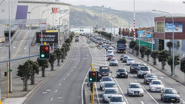 """De-tuning"" Wellington's waterfront quays to traffic, and incorporating more space for public transport, pedestrians and ..."