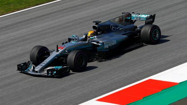 Austrian GP: Lewis Hamilton leads in both practice sessions