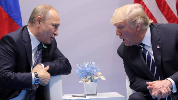 Russian President Vladimir Putin and US President Donald Trump may come face-to-face again during the latter's trip to Asia