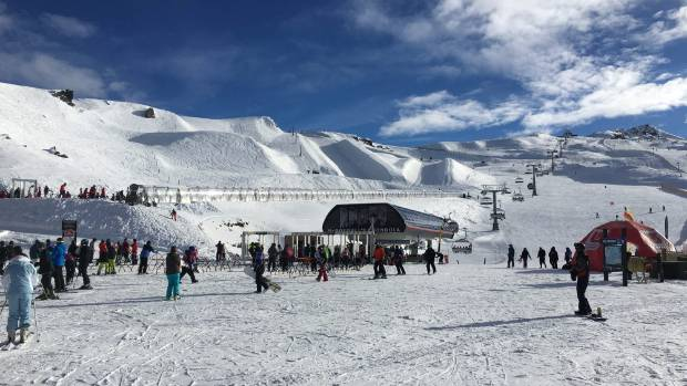 Cardrona Alpine Resort. Shots taken on Saturday July 8.
