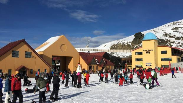 A fresh dump of snow kept snowboarders and skiers happy at Cardrona Alpine Resort on Saturday.