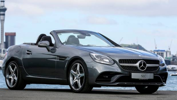 Smallest mercedes benz drop top proves to be the biggest for The biggest mercedes benz