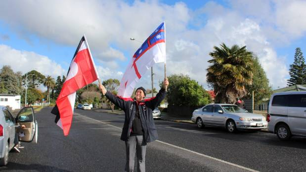 Aucklanders march from Otahuhu to Pokeno to commemorate the Waikato War.