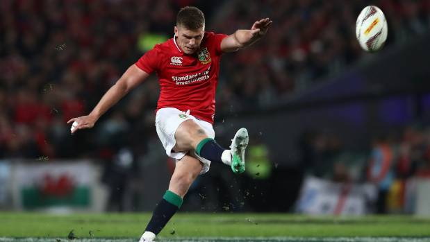 Owen Farrell's kicking was a big plus for the Lions.