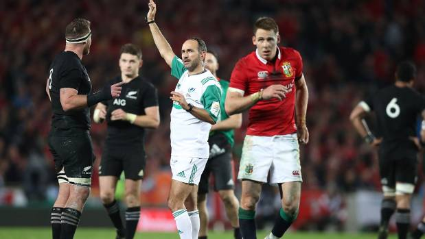 Sam Warburton's diplomacy convinced referee to change mind