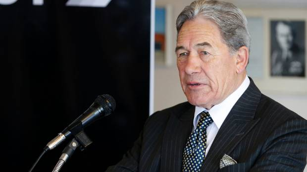 """NZ First leader Winston Peters warns Greens over """"racist"""" accusation."""