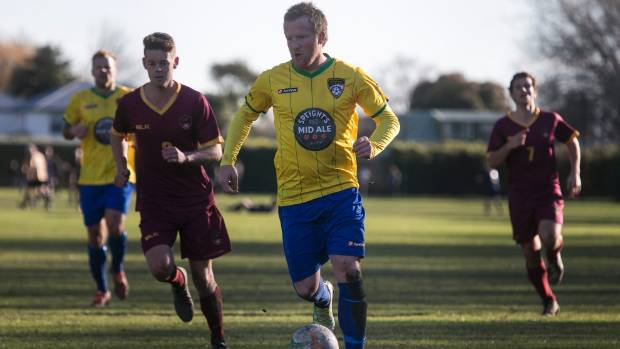 Michael White is the Mainland Premier League's leading goal scorer this season with 19 goals.